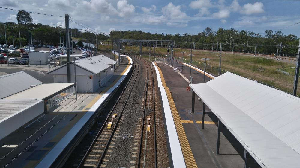 Station Between Petrie To Kippa Ring