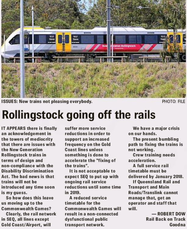 New Generation Rollingstock